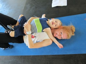Sweating With Toddlers + Sara Haley Exercise DVD Giveaway