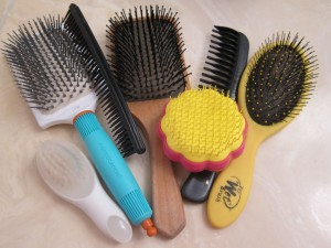 Hairbrush collection