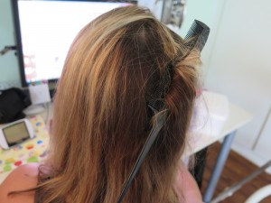 Why You Should Never Play Beauty Salon With A 2-Week-Old Baby